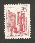 Sellos de Europa - Yugoslavia -  vista de aykabah