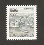 Sellos de Europa - Yugoslavia -  vista de dubrovnik