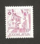 Stamps Yugoslavia -  vista de sarajevo