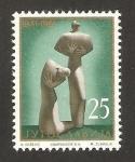 Sellos de Europa - Yugoslavia -  esculturas