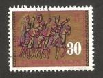 Sellos de Europa - Yugoslavia -  tres jinetes
