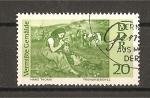 Stamps Germany -  Cuadros perdidos durante las hostilidades (DDR)