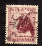 Stamps South Africa -  Bufalo