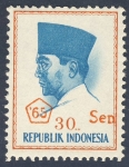Stamps Indonesia -  Achmed Sukarno 65