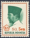 Stamps Asia - Indonesia -  Achmed Sukarno 65