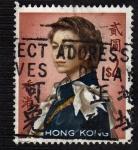 Sellos del Mundo : Asia : Hong_Kong : Reina Elizabeth