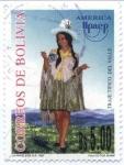Stamps America - Bolivia -  America UPAEP - Trajes tipicos
