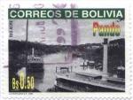 Stamps Bolivia -  Vistas del Departamento de Pando