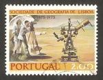 Stamps Portugal -  topografo, sociedad de geografía de lisboa
