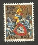 Sellos de Europa - Portugal -  escudo armas de infante don enrique