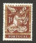 Sellos de Europa - Portugal -  arcángel san gabriel