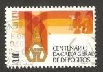 Sellos de Europa - Portugal -  centº de la caja general de depósitos