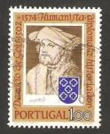Sellos de Europa - Portugal -  damiao de gois, humanista, diplomático e historiador