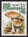 Stamps Asia - Cambodia -  SETAS-HONGOS: 1.171.004,00-Hebeloma crustuliniforme