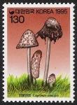 Stamps South Korea -  SETAS-HONGOS: 1.230.043,00-Coprinus comatus