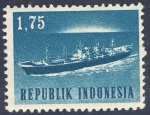 Stamps Indonesia -  barco