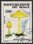 Stamps Africa - Mali -  SETAS-HONGOS: 1.186.012,00-Lepiota cortinarius