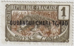 Stamps : Europe : France :  MOYEN- CONGO