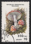 Sellos de Africa - Madagascar -  SETAS-HONGOS: 1.182.003,00-Amanita muscaria