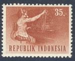 Sellos de Asia - Indonesia -  teleoperadora