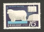Stamps Uruguay -  oveja, lana natural insustituible