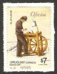 Sellos de America - Uruguay -  el afilador
