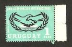 Stamps : America : Uruguay :  año cooperación internacional