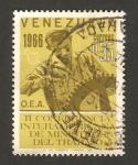 Stamps Venezuela -  II conferencia interamericana de ministros del trabajo