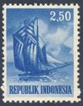 Stamps Indonesia -  velero