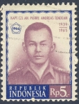 Stamps Asia - Indonesia -  Kapt Czi  An Pierre Andreas Tendean  1939 1965