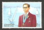 Stamps Thailand -  H.M. rey 70 anivº de su cumpleaños