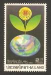 Stamps Thailand -  protección del medio ambiente