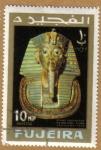 Stamps Asia - United Arab Emirates -  FUJEIRA-Esposicion de El Cairo