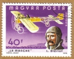 Stamps of the world : Hungary :  Aviacion L, Bleriot