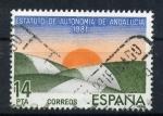 Sellos de Europa - España -  estatuto de autonomia de andalucia 1981