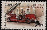 Stamps France -  Bomberos