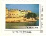 Sellos de Europa - Francia -  Isla de San Luis - Paris