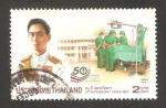 Stamps Thailand -  50 anivº de chula med.