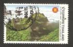 Sellos de Asia - Tailandia -  montaña luang chiang dao