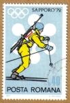 Stamps : Europe : Romania :  Sapporo