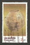 Sellos de Asia - Tailandia -  cesto