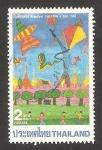Sellos de Asia - Tailandia -  día del niño