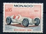 Sellos del Mundo : Europa : Mónaco : Mercedes-1936