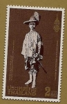 Stamps Thailand -  Centenario del Rey Rama VII