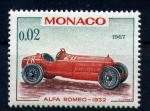Sellos del Mundo : Europa : Mónaco : Alfa Romeo-1932