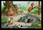 Stamps France -  Animales del bosque  HB