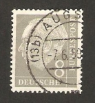 Stamps Germany -  66 - Presidente Thedore Heuss