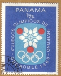Stamps America - Panama -  JJOO de Grenoble 1968