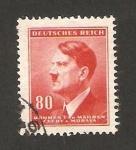 Sellos de Europa - Checoslovaquia -  82 - Hitler