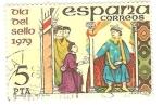 Sellos del Mundo : Europa : España : Día del sello 1979